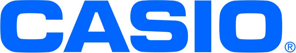 Casio logo bleu